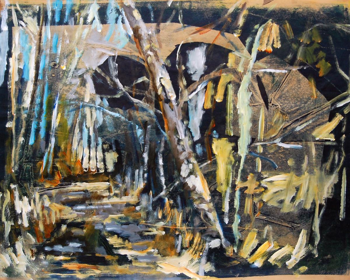 pad-met-bomen-en-schuur-50-bij-65cm-2011